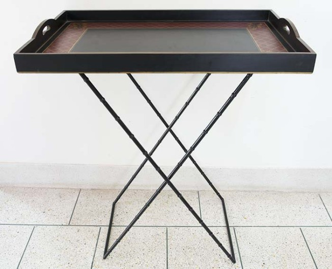 Ambiente Exhibitors Products Gora Exports Hand Painted Trays Tray Tables