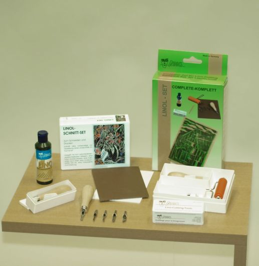 Complete Lino Cutting Set