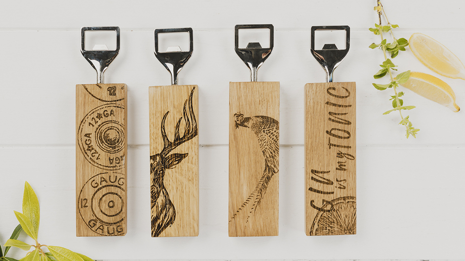 Ambiente Exhibitors Products Selbrae House Ltd The Just Slate Company Scottish Oak Bottle Openers