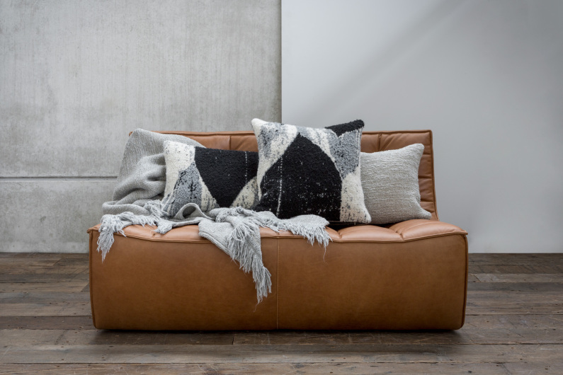 Ethnicraft Abstract Layer cushions