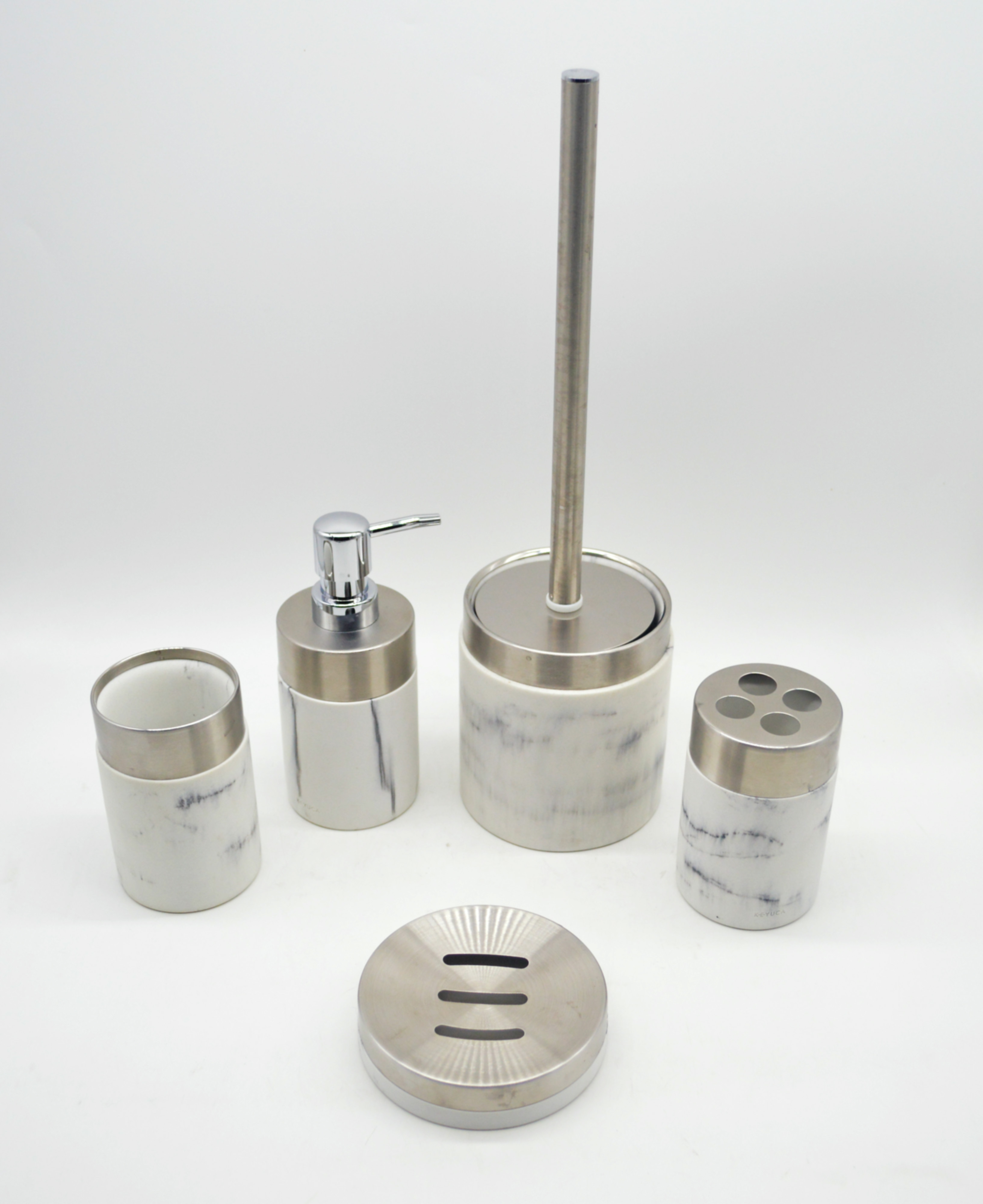 Ambiente Exhibitors Products Hongkong Hongbao Enterprise Limited Marble Bathroom Accessories Set