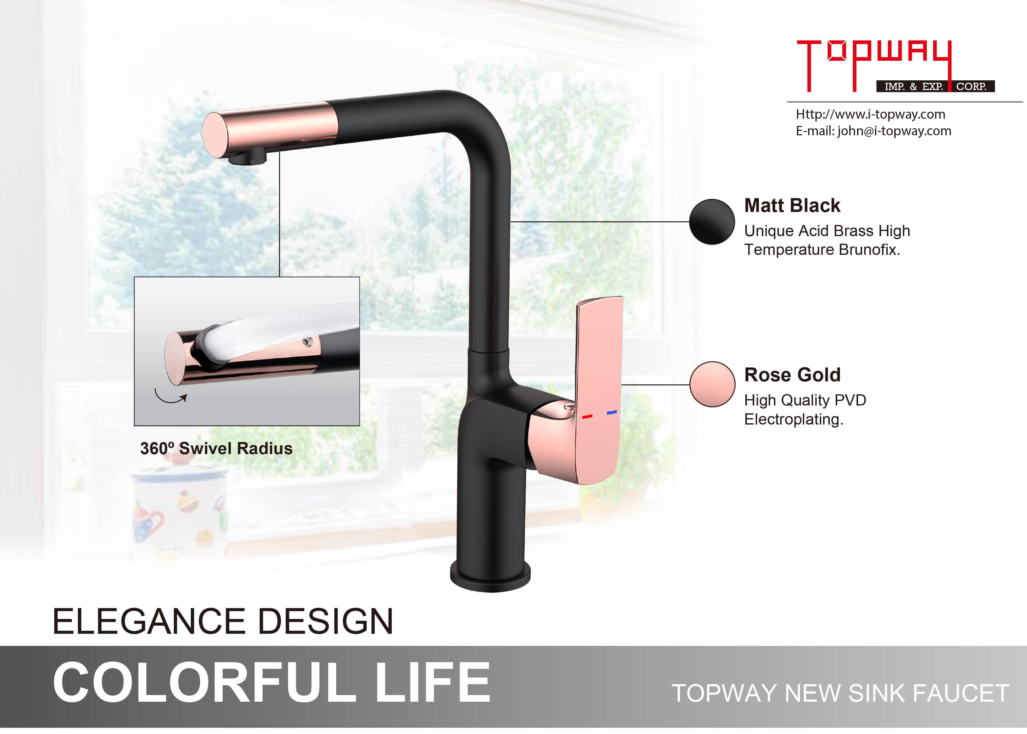 TOPWAY Drinking Water Tap kitchen sink faucet