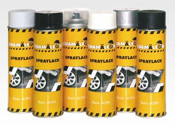 plastic padding spraylack